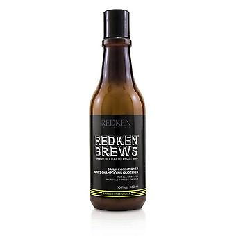 Redken Brews Daily Conditioner (For All Hair Types) - 300ml/10.1oz
