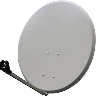 Smart SEC80SG SAT antenna 80 cm Reflective material: Steel Light grey