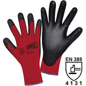 Nylon Protective glove Size (gloves): 7, S EN 388 CAT II L+D worky SKINNY PU 1177 1 pair
