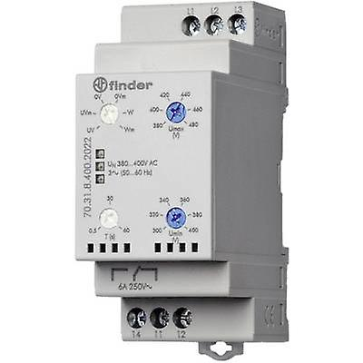 1 pc(s) Monitobague relay 380 - 415 V AC 1 change-over 1 pc(s) Finder 70.31.8.400.2022