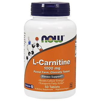 Now Foods LCarnitine 1000 mg 50 tablets (Sport , Muscle definition , L-Carnitine)