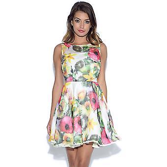 AX Paris Floral Midi Skater kjole