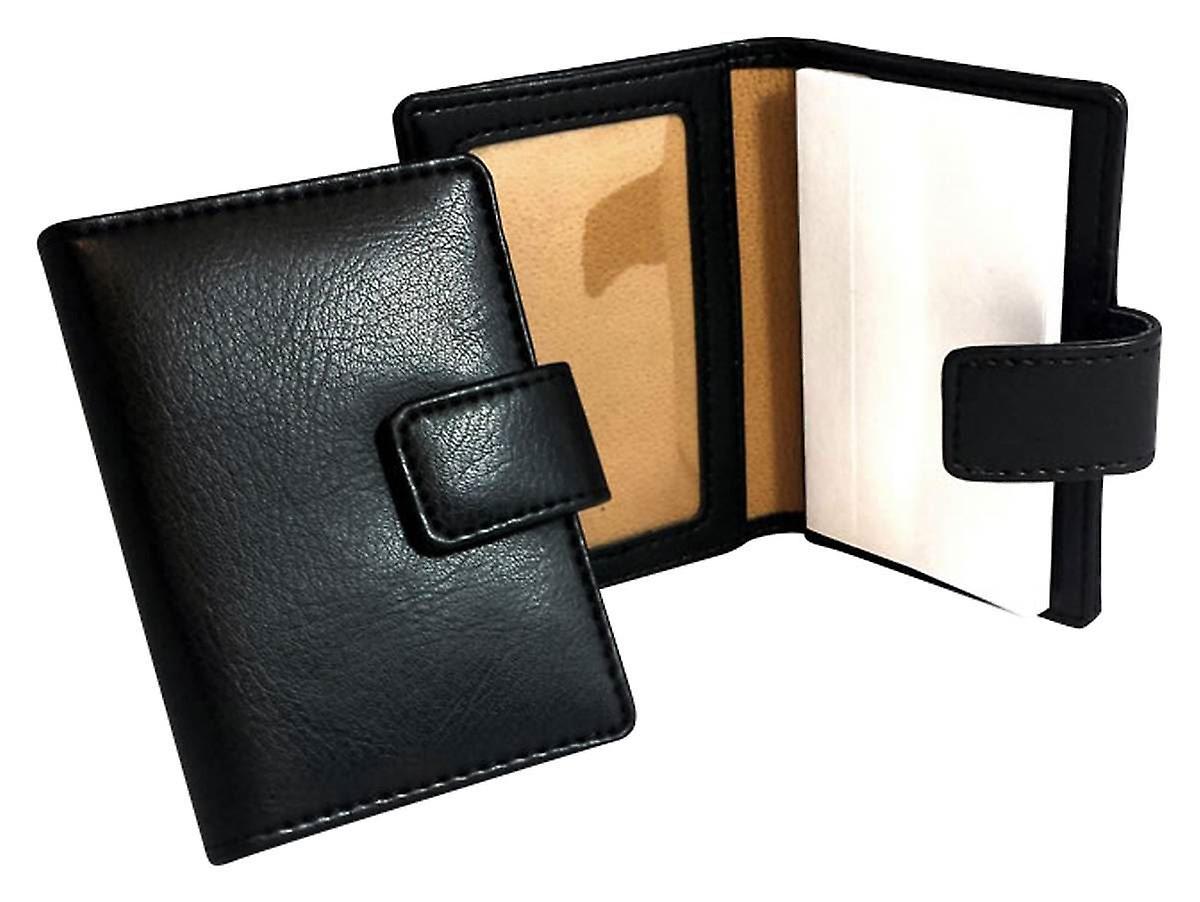David Card Van Hagen With HolderBlack Notepad dxotCsQrhB