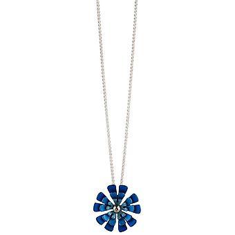 Ti2 Titanium Triple tien Petal bloem hanger - blauw