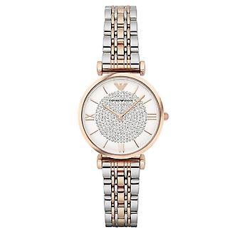 Emporio Armani Womens' Watch - AR1926 - White/Steel/Gold