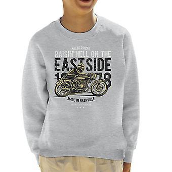 Raisin helvetet Moto Racer motorcykel Kids tröja