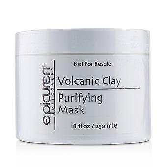 Epicuren Volcanic Clay Purifying Mask - For Normal Oily & Congested Skin Types - 250ml/8oz
