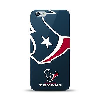 Licencia de NFL de gran tamaño Snapback caso para el iPhone 6 Plus / 6S Plus - Houston Texas