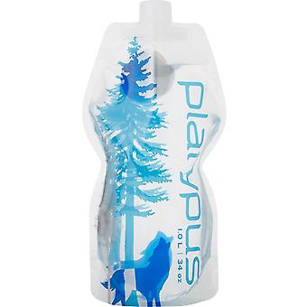 Platypus Soft Bottle with Closure Cap Flexible Lightweight and Packable