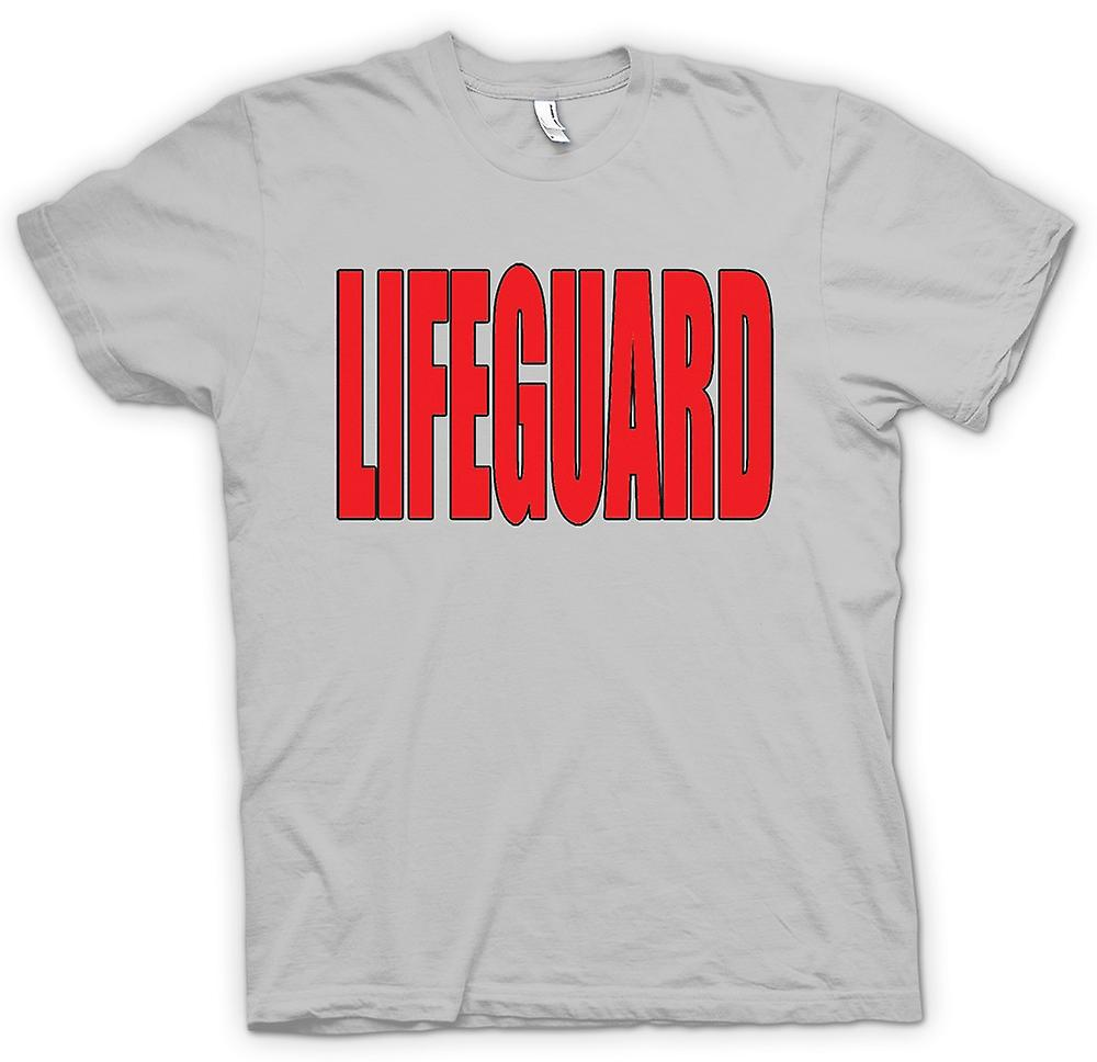 Mens T-shirt - Lifeguard - lustig-Humor