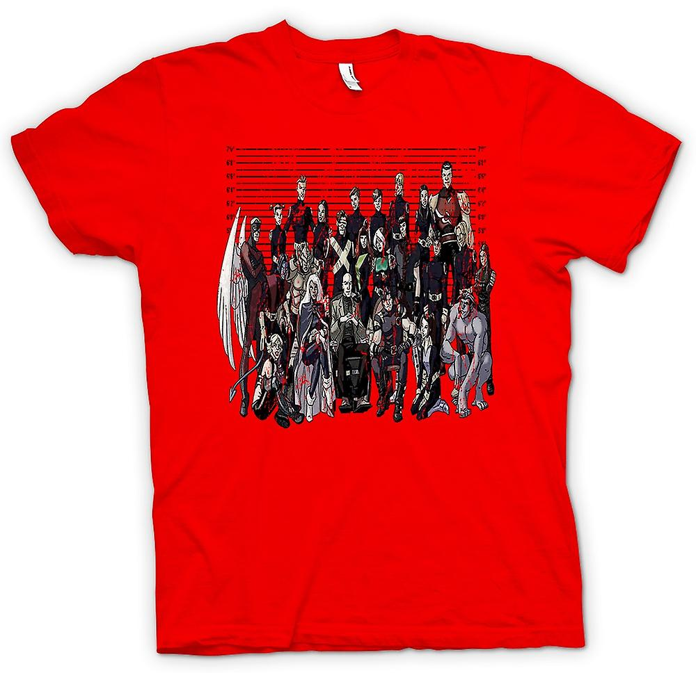 Hommes T-shirt - X-Men - Photo d'- Drôle