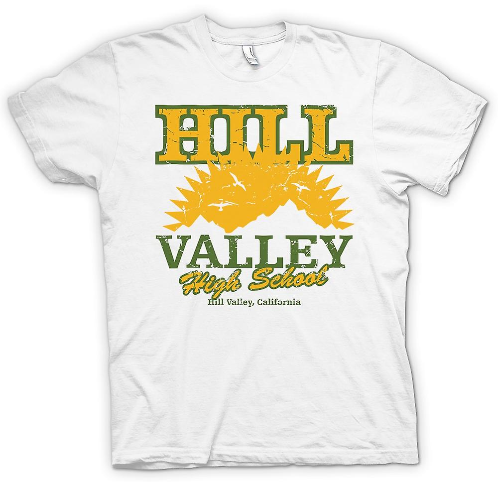Womens T-shirt - Hill Valley High School - Back to The Future Inspired