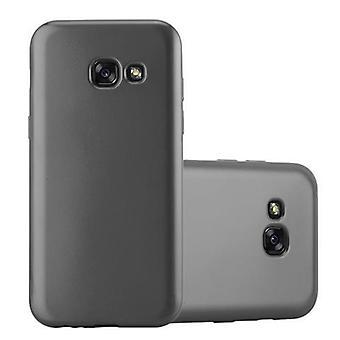 Cadorabo tilfældet for Samsung Galaxy A5 2017 sag Cover-mobiltelefon sag lavet af fleksibel TPU silikone-silikone sag beskyttende sag Ultra Slim Soft tilbage Cover sag kofanger
