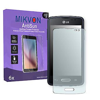 LG L50 Sporty Screen Protector - Mikvon AntiSun (Retail Package with accessories)