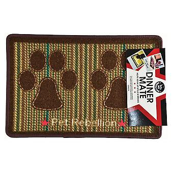 Pet Rebellion Berkshire Tweed Dinner Food Mat
