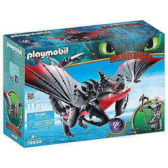 Playmobil 70039 Dragons - Deathgripper and Grimmel