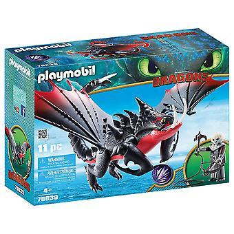 Playmobil 70039 draghi - Deathgripper e Grimmel