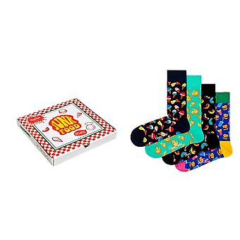 Happy Socks 4 Pair Pack Junk Food Gift Box