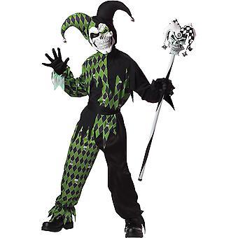 Kwaad Joker kind kostuum