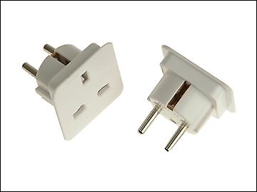 SMJ European Travel Adaptor - Pack of 2