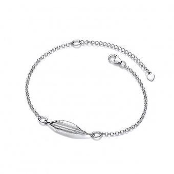 Cavendish Franse zilveren één veer geest armband
