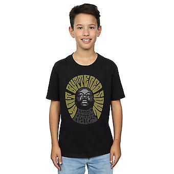 Isaac Hayes chicos caliente camiseta de escala de grises de alma con mantequilla