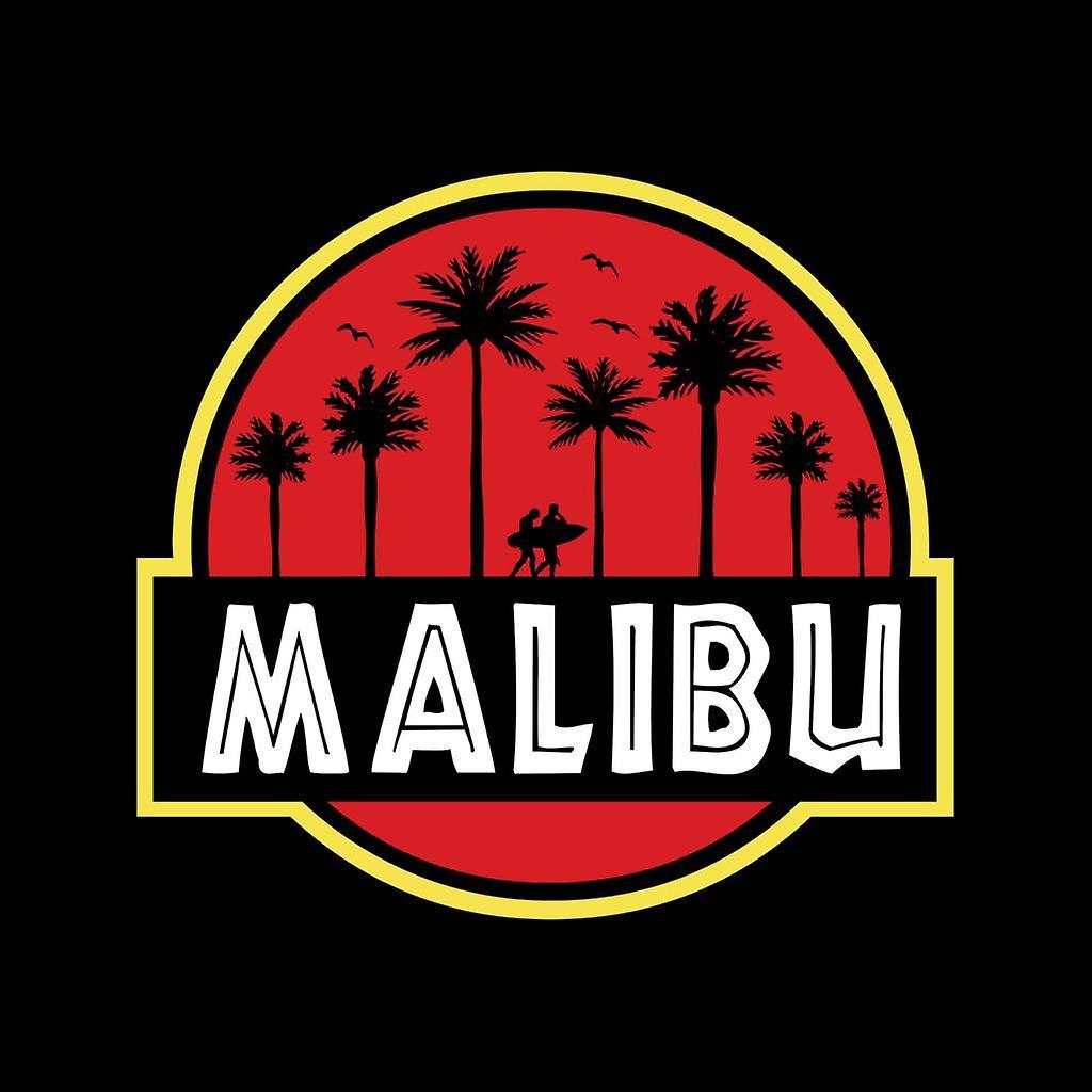 Malibu Jurassic Park Logo Kid de Hooded Sweatshirt