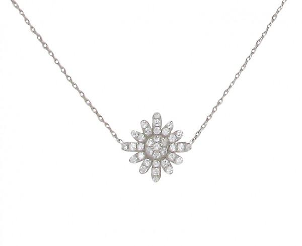 Cavendish French Starburst Daisy Necklace