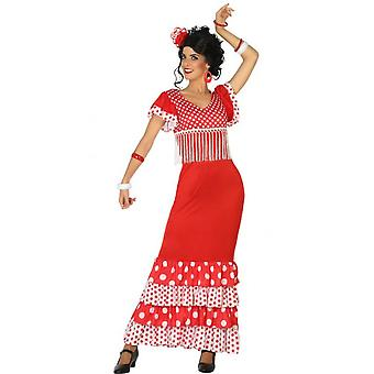 Women costumes  Spanish dress Flamenco