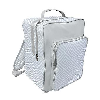 Country Club 17L Backpack Cool Bag, Grey Geo