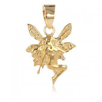 Guldpläterade Elf hänge