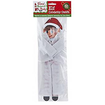 Elfo Behavin Badly - Elf Glitter Celebrity Outfit - Argento