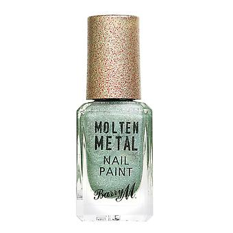 Barry M Molten Metal Nail Paint - Holographic Flare
