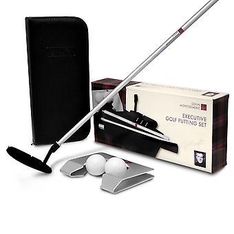 Colin Montgomerie Executive Golf Putting Set
