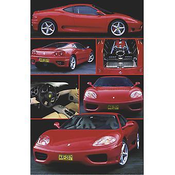 Affiche - Studio B - 24x36 Ferrari 360 Modena Wall Art CJ3538