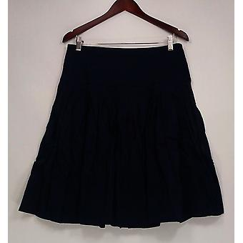 G.I.L.I. got it love it Skirt Regular A-Line  w/ Pleating Blue A253096