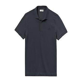 Lacoste Baumwolle Paris Polo Shirt grau