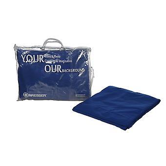 BRESSER Y-9 Tissu de fond 3x4m Chromakey Blue