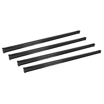 4 Bar Cargo Roof Bars system pour Opel VIVARO Box 2014-2018