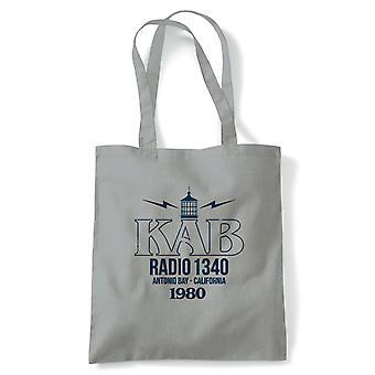 KAB Radio Antonio Bay Fog Movie Inspired Tote Bag
