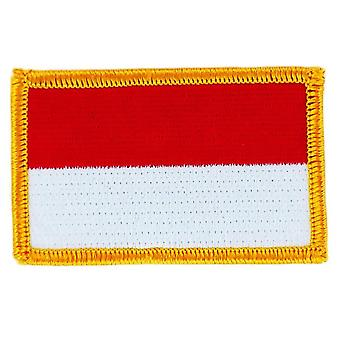 Patch Ecusson Brode Drapeau  Indonesie Bali  Thermocollant  Insigne Blason