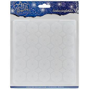 Find It Trading Precious Marieke Embossing Folder-Winter Wonderland EMB10006