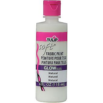 Tulip Soft Fabric Paint 4Oz Glow Natural Tsfp 29098