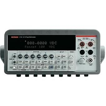 Bench multimeter digital Keithley 2100 Calibrated to: Manufacturer standards CAT II 600 V Display (counts): 1000000