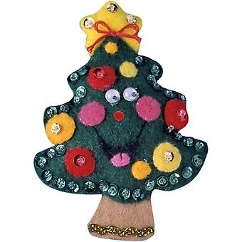 Tree Ornament Felt Applique Kit-3