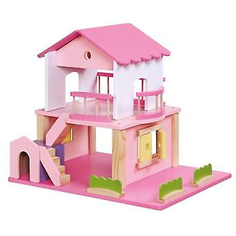 Legler Dolls House, Pink (Toys , Dolls And Accesories , Miniature Toys , Stages)