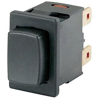 Pushbutton switch 250 Vac 16 A 1 x Off/On Marquardt 01662.0201-00 IP40 latch 1 pc(s)