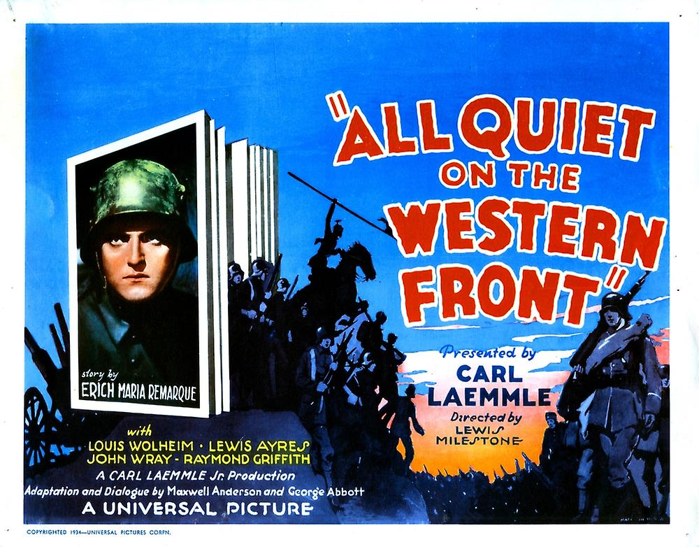 all quiet on the western front destroying Watch free all quiet on the western front 1930 full movie storyline: a young soldier faces profound disillusionment in the soul-destroying horror of world war i.