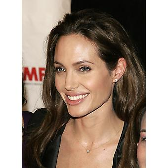 Angelina Jolie bij aankomst voor internationale WomenS Media Foundation 2007 moed In journalistiek Awards Beverly Hills Hotel Los Angeles Ca 30 oktober 2007 foto door Adam OrchonEverett collectie foto P