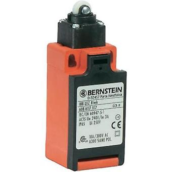 Limit switch 240 Vac 10 A Lever momentary Bernstein AG I88-U1Z RIWK IP65 1 pc(s)